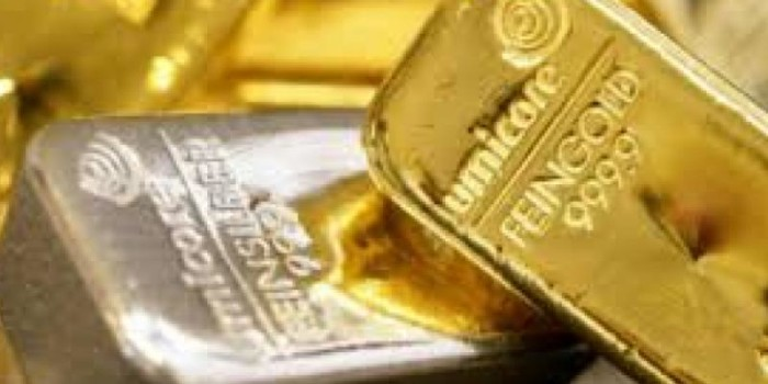 Gold plunges on global cues, silver below Rs 46,000 per kg