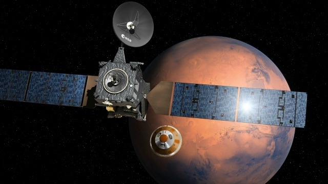 "ESA's ""Life on Mars"" lander aims for risky touch down on red planet"