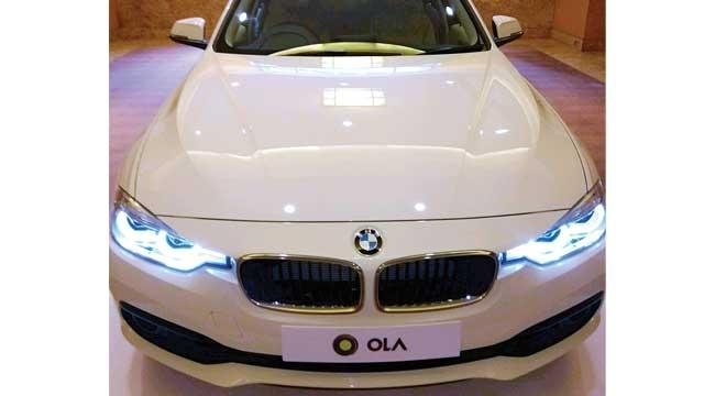 Ola hails a BMW to bolster premium ride