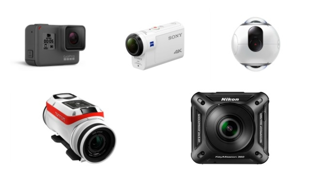 Top 5 action cameras for your next vacation