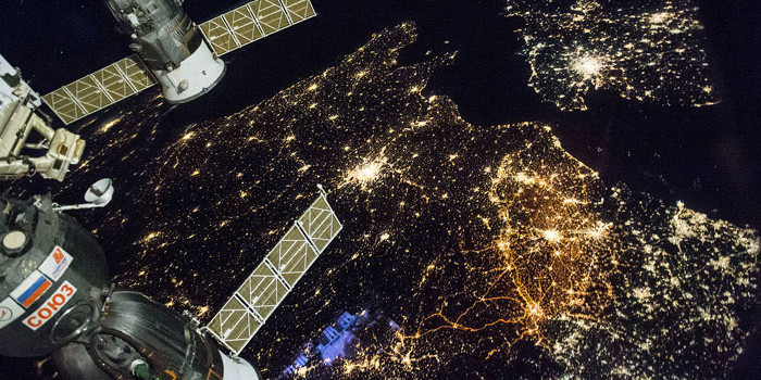 NASA shares beautiful nighttime view of Western Europe!