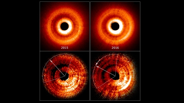 'Shadow play' spotted by NASA's Hubble points to new planet