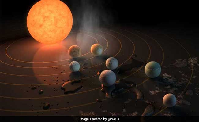 Scientists Discover 7 'Earthlike' Planets Orbiting A Nearby Star