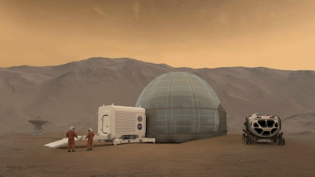 NASA wants 3D-printed homes for people on Mars!