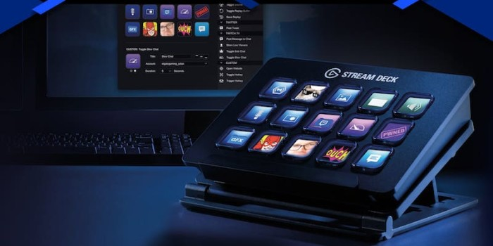 Elgato Stream Deck Is a Control Centre for Pro-Livestreamers