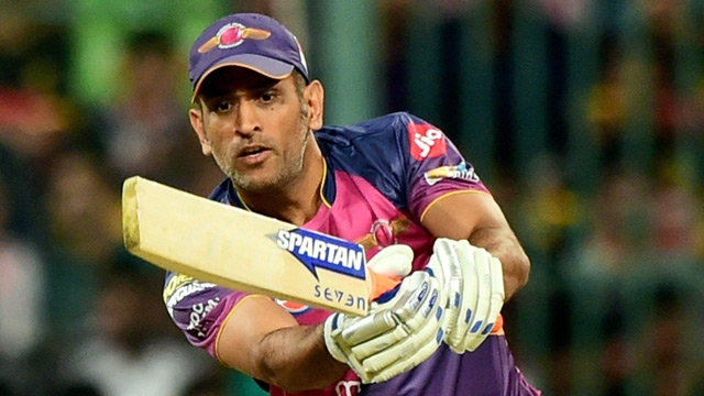 IPL 2017 | WATCH: MS Dhoni convinces RPS teammates to enjoy 'bohot accha' cake!
