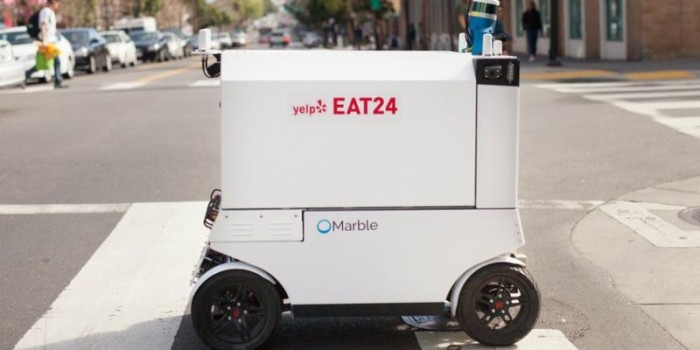 Robots will soon start home delivery of food in San Francisco