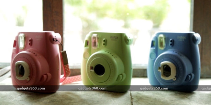 Fujifilm Instax Mini 9 Instant Camera Launched in India