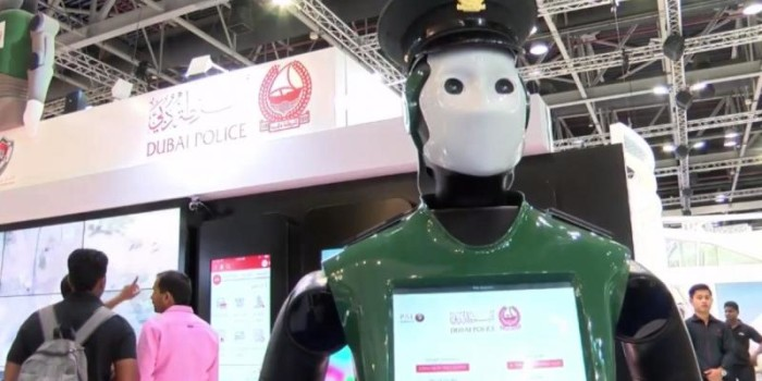 Robot that walks to passengers, helps in check-in developed