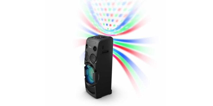 Sony MHC-V50D One-Box Portable Audio System With Party Lights Launched at Rs. 33,990