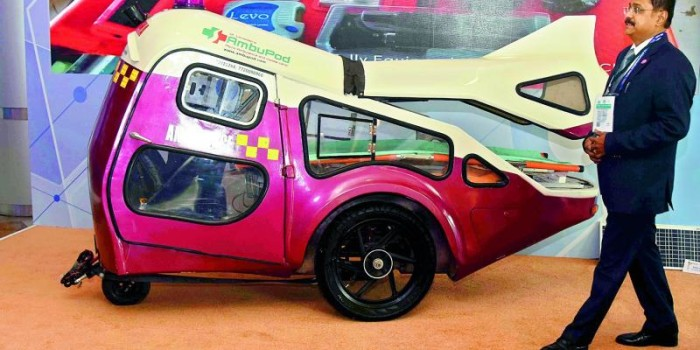 Hyderabad GES Day 1: Micro-ambulance, AmbuPod is the 'star'